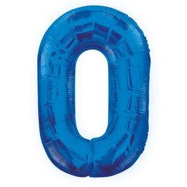 """Foil Balloon - Royal Blue #0 - 34"""""""