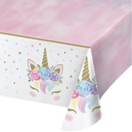 "Tablecover - Unicorn Baby - 54""x102"" - 1pc"
