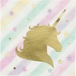 Beverage Napkins- Magical Unicorn