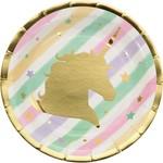 Beverage Plates- Unicorn