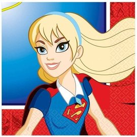 Napkins - BEV - DC Superhero Girls - 16pc