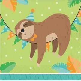 Napkins - LN - Sloth Party - 16pkg - 2ply