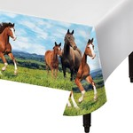 """Tablecover-Horse and Pony- 54"""" x 102"""""""