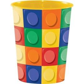 Plastic Cup-Block Party-1pkg-16oz