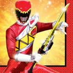 Napkins Bev. Power Rangers