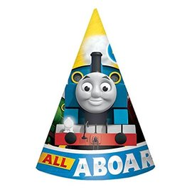 Cone Hat-Thomas All Aboard-8pk-Paper