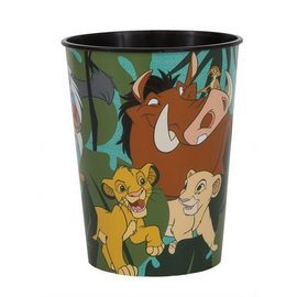 Cups - Plastic - Lion king - 16oz - 1pc
