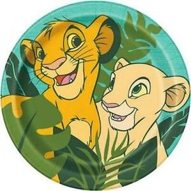 Luncheon Paper Plates-Lion King-8pk-8 5/8""