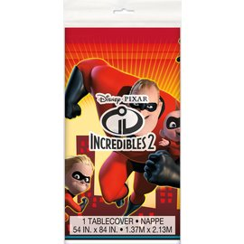 Tablecover- Incredibles 2- Plastic