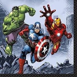 Napkins BEV-Avengers-16pk-2ply