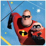 Beverage Napkins-Incredibles2- 16pk-2ply