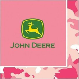 Napkins BEV-John Deer Pink - Final Sale