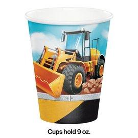 Cups - Paper - Big Dig Construction - 9oz