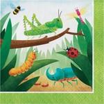 Napkins - LN - Birthday Bugs  - 16pkg - 2ply