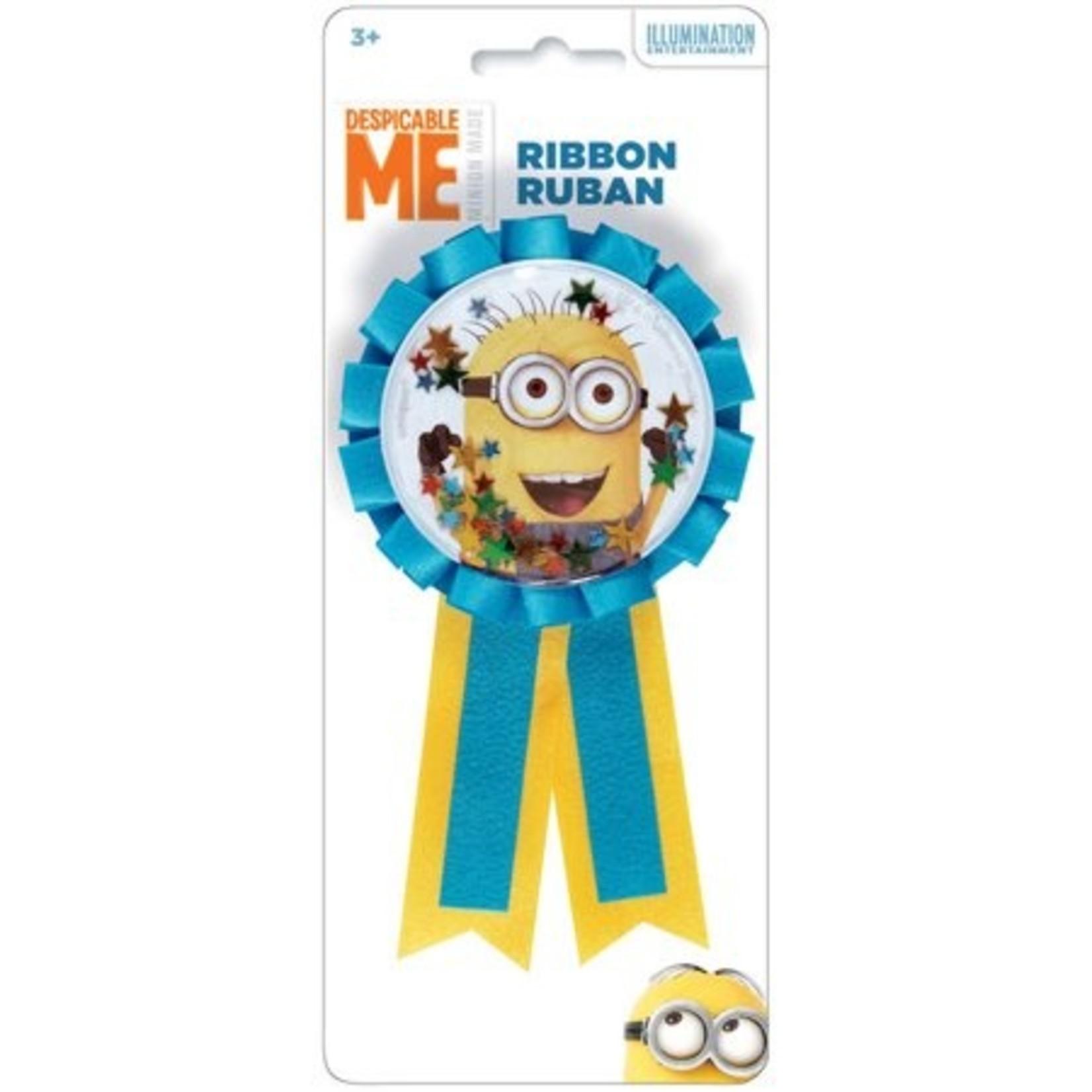 "Award Ribbon-Despicable Me Minion-1pkg-5.5"""