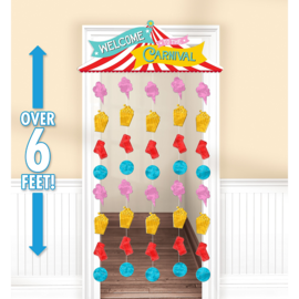 Doorway Curtain- Carnival- 39 x 77""