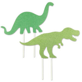 Cake Topper - Dinosaur - 2 pc