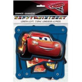 Banner- Cars 3- 6.2ft
