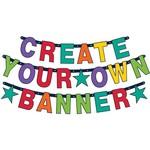 Letter Banner Kit - Customizable Bnr - 84pcs