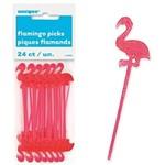Picks-Flamingoes-Plastic-3''-24pk