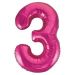 "Foil Balloon - Pink #3 - 34"""