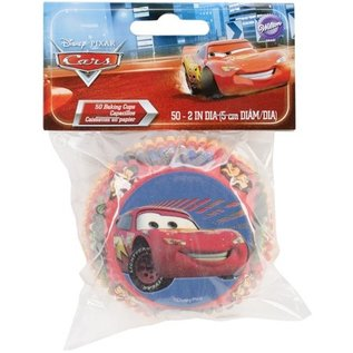 Baking Cups-Cars-50pkg-2""