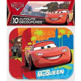 Cutouts-Disney Pixar Cars-10pk