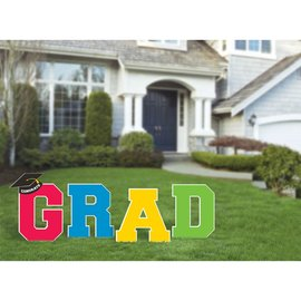 Yard Decorations - Stakes Multicolor - GRAD - 1pc