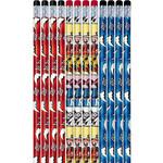 Pencils-Power Rangers-7''-12pk