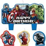 Candles - Avengers - 4 pcs