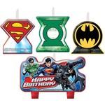 Candles-Justice League-4pk