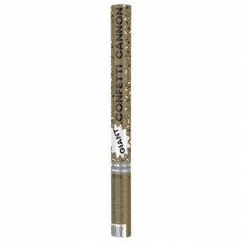 Confetti Cannon - Giant Size - Black & Gold - 1pc
