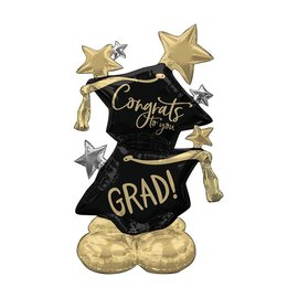 Airloonz Balloon - Congrats To You - Grad - 51in