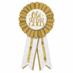 Award Ribbon - Old is the New Gold - 1pc