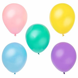 Balloons-Latex-Assort Pastel-12''-10pk