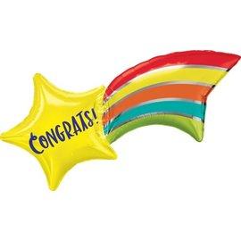 Foil Balloon - Congrats Supershape - 27'' - 1pc