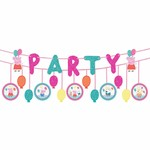 Banner-Peppa Pig Party