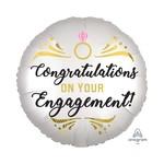 Foil Balloon - Congratulations Engagement - 18''