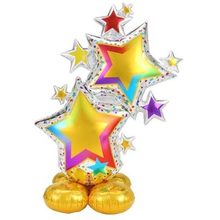 Airloonz Balloon - Stars - Multicolor - 59in