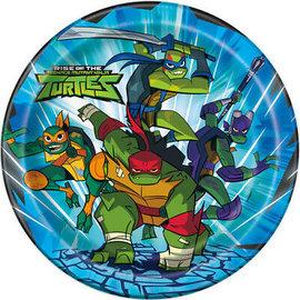 Plates - LN - TMNT - Ninja Turtle - 8 pk