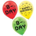 "Balloons-Latex-Minecraft-TNT Party!-6pk-12"""