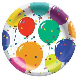 Plates - Bev - Party Balloons - 8 pk