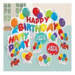 Table Decoration Kit - Birthday Celebration - 10 pcs
