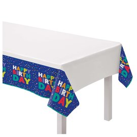 Table Cover - Bold Happy Birthday