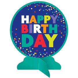 Centerpiece - Bold Happy Birthday - 1 pcs
