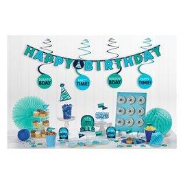 Decoration Kit - Blues - 17 pcs