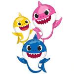 Foil Balloon - Air Walkers - Baby Shark