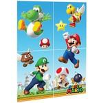 Wall Decorating Kit - Super Mario - 4pk