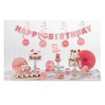 Decorating Kit Pinks - BDAY - 17  pcs
