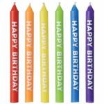 Candles - Birthday - Rainbow - 12 PK